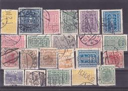 AUTRICHE - OSRERRAICH - LOT - 22 Stamps - Perfores - Perfines - Perforés