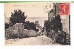CPA-22-1929-SAINT-CAST-UNE RUE DE L'ISLE- - Saint-Cast-le-Guildo