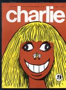 CHARLIE  Journal Plein D'humour Et De Bandes Dessinées, Mensuel, 64 Pages , N°9 - Humour