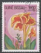 Guinea-Bissau 1983. Scott #517 (U) Flower, Canna Coccinea, Fleurs * - Guinée-Bissau