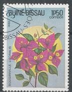 Guinea-Bissau 1983. Scott #518 (U) Flowers Bouganville Litoralis, Fleurs * - Guinée-Bissau