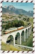 X2317 TRAIN DIGNE GENEVE PRES DE LUZ LA CROIX HAUTE  2 SCANS - Eisenbahnen