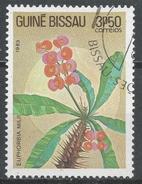 Guinea-Bissau 1983. Scott #519 (U) Flowers, Euphorbia Milii, Fleurs * - Guinée-Bissau