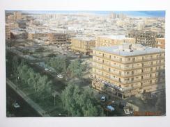 Postcard Views From Alkhobar Al Khobar Street Scene From Above Saudi Arabia Nice Oil Rig Stamps My Ref B2968 - Saudi Arabia
