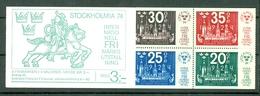 Sverige 1974  Yv  C823** Boekje/carnet 823** Complete Booklet - Carnets
