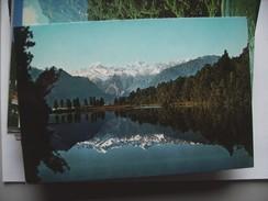 New Zealand Westland Lake Matheson - Nieuw-Zeeland