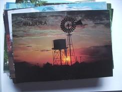 Australië Australia Sunset Outback Mill Mildura Vic - Mildura