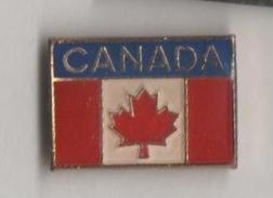 2 Pin´s: Canada - Quebec - Feuille D´erable - Städte