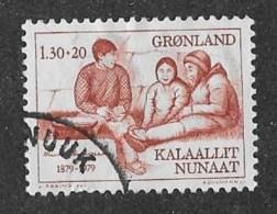 GREENLAND 1979, USED  # B8  RASMUSSEN & Eskimos  Used - Groenland