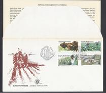 1979 - Agriculture In Bophuthatswana - ( Bantustan ) - Mi:ZA-BP 51#BP 54 - Bophuthatswana