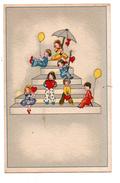 ENFANT . COEUR , BALLON.- Réf. N°1289 - - Tarjetas Humorísticas