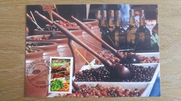Carte Maxi FDC - N°3647 -La France à Vivre Le Marché De Provence - 2000-09