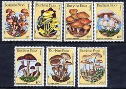 BURKINA FASO 1985 Fungi MNH / ** - Burkina Faso (1984-...)