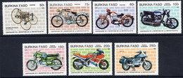 BURKINA FASO 1985 Motorcycles MNH / ** - Burkina Faso (1984-...)