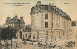 PARIS XX CASERNE DES SAPEURS POMPIERS RUE HAXO - Arrondissement: 20