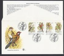 1980 - Birds Of Bophuthatswana - ( Bantustan ) - Mi:ZA-BP 60-63 - Bophuthatswana