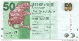 HONG KONG 50 DOLLARS 2010 (2011) P-298a UNC [HK419a] - Hong Kong