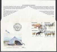 1983 - The Pilanesberg Nature Reserve -  Bophuthatswana - ( Bantustan ) - Mi:ZA-BP 100#-BP 103 - Bophuthatswana