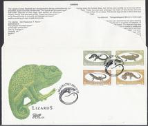 1984 - Lizards -  Bophuthatswana - ( Bantustan ) - Mi:ZA-BP 129#BP 132 - Bophuthatswana