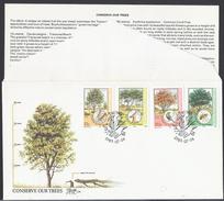 1985 - Conserve Our Trees -  Bophuthatswana - ( Bantustan ) - Mi:ZA-BP 144#BP 147 - Bophuthatswana
