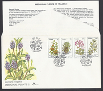1981 - Medicinal Plants Of Transkei - ( Bantustan ) - Yt:ZA-TR 88-91 - Transkei