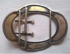 Ancienne Boucle De Ceinture Début Du Siècle - Autres