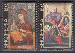 ALBANIA 2712-2713,unused - Christentum