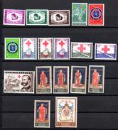 1959   Année Complète **, Europe Du Coeur, Journée Du Timbre, Croix-Rouge, Bibliothèque Royale, 1090  /  1120**, Cote - Belgium