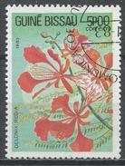 Guinea-Bissau 1983. Scott #520 (U) Flowers Delonix Regia, Fleurs * - Guinée-Bissau