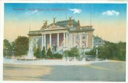 CPM - WIESBADEN - Königl. Theater Mit Schillerdenkmal - Wiesbaden