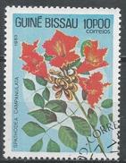 Guinea-Bissau 1983. Scott #522 (U) Spathodea Campanulata, Flowers * - Guinée-Bissau