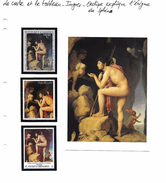 La Carte Et Le Tableau - Ingres - Oedipe Explique L'énigme Du Sphinx - Art