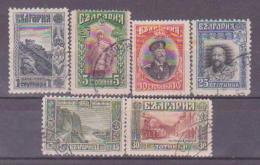 63-700 // BG - 1915  FREIMARKEN LANDSCHAFTEN  / LANDSCAPES     Mi 101/06 O - 1909-45 Reino