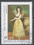 Guinea-Bissau 1984. Scott #554 (U) Painting By Spanish Artist, Dona Tadea Arias De Enriquez By Goya * - Guinée-Bissau