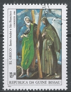 Guinea-Bissau 1984. Scott #556 (U) Saints Andrew And Francis, By El Greco * - Guinée-Bissau