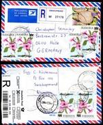 BUSHMAN POISON NAMIBIA Registered Cover Properly Used SWAKOPMUND To Germany 2004 - Toxic Plants