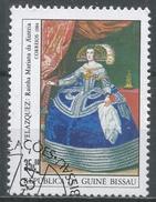 Guinea-Bissau 1984. Scott #558 (U) Queen Maria Of Austria, By Velazquez * - Guinée-Bissau