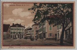 Echallens - Avenue De La Gare - Litho Guggenheim No. 12408 - VD Vaud