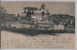 Chateau De Lucens - Photo: Jullien Freres No. 2044 - VD Vaud