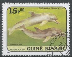 Guinea-Bissau 1984. Scott #599 (U) Whales, Tursiops Truncatus, Baleine * - Guinée-Bissau