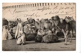 MAROC . OUDJDA . CHAMELIERS - Réf. N°1299 - - Morocco