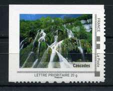 "Cascades Adhésif Neuf ** . Collector "" LA FRANCHE COMTE ""  2009 - France"