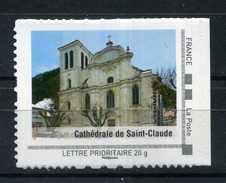 """Cathédrale De SAINT CLAUDE Adhésif Neuf ** . Collector """" LA FRANCHE COMTE """"  2009 - Collectors"""