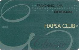Haspa Club Casino Slot Card - Argentina - 15366 Trasntex11/09 Over Mag Stripe - Casino Cards