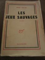 Paul Colin: Les Jeux Sauvages/ Gallimard - Autres Collections