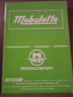 Mobylette: Fonctionnement, Graissage, Entretien (Motoconfort) - Andere Sammlungen