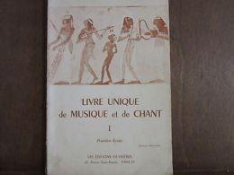 Paul Pittion/ Livre Unique De Musique Et De Chant I. - Non Classés