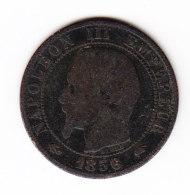 FRANCE KM 777.1, 5ct, 1856A. (B452) - France