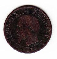 FRANCE KM 797.2, 5ct, 1864BB. (B454) - France