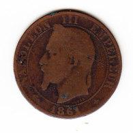FRANCE KM 797.1, 5ct, 1861A. (B455) - France